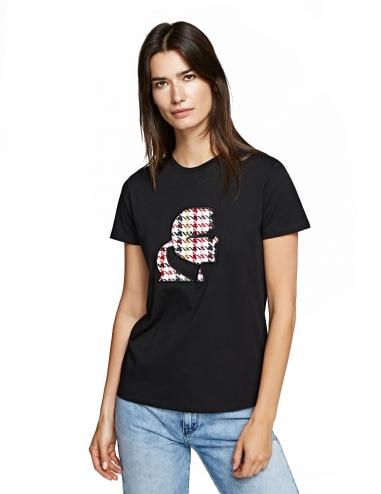 Karl Kameo bouclé t-shirt