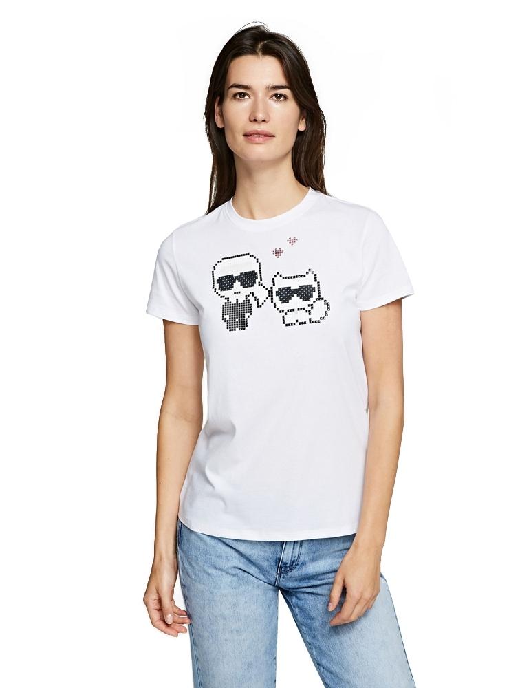 Karl Pixel Choupette T-Shirt