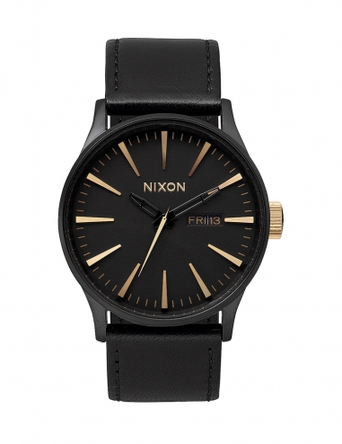 SENTRY LEATHER MATTE BLAC