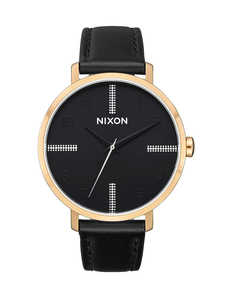 ARROW LEATHER GOLD BLACK