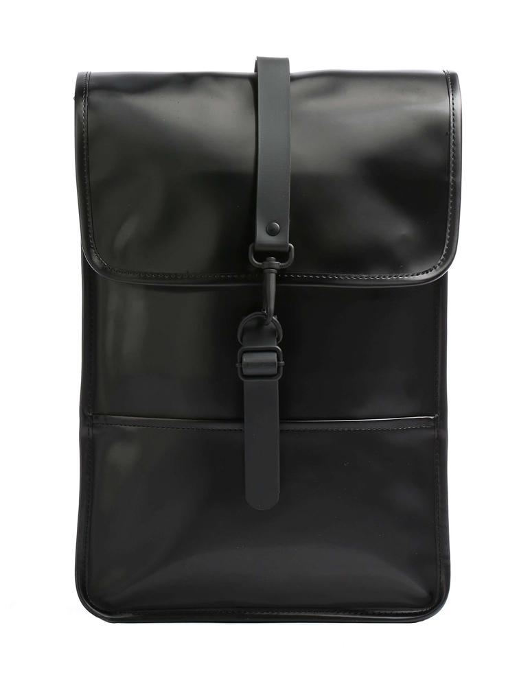 Backpack mini shiny black