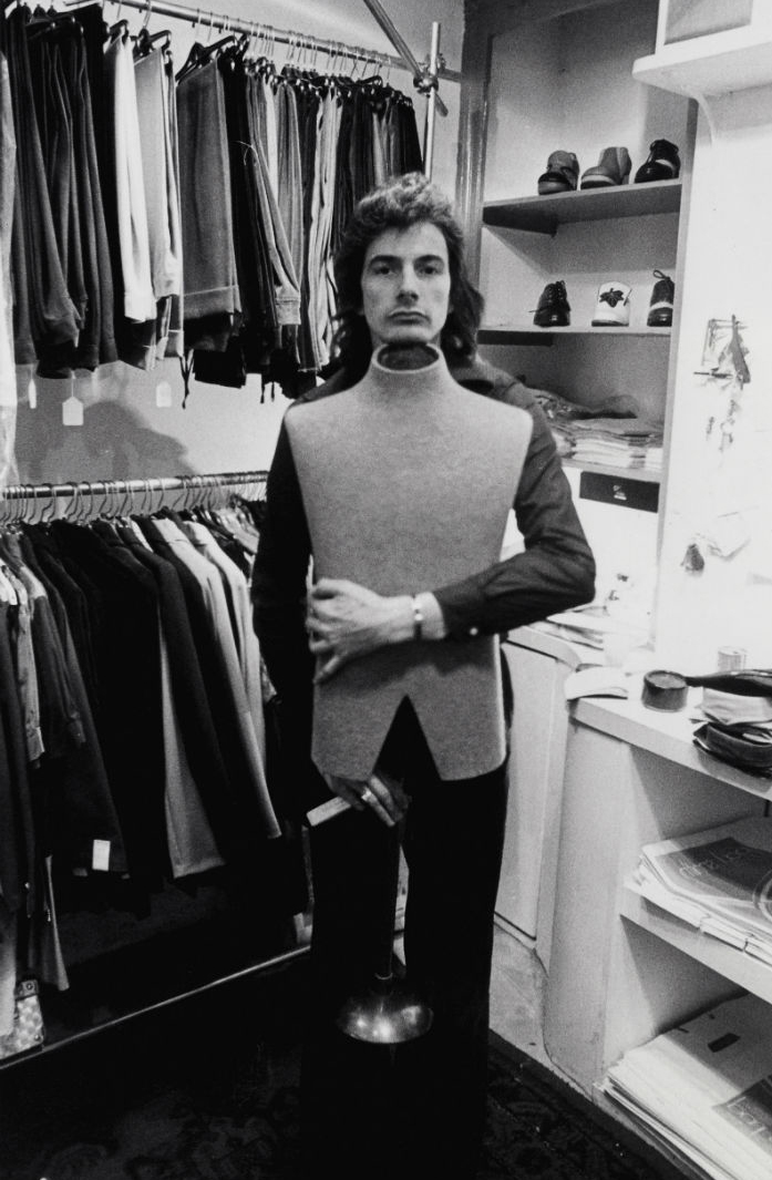 Paul Smith en su primera tienda