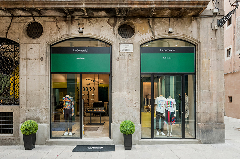 Paul Smith store in Barcelona
