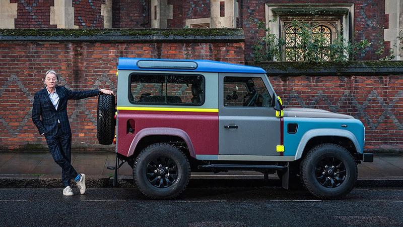 Land Rover Defender diseñado por Paul Smith