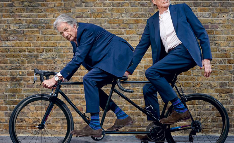 Paul Smith and Mercian's tandem bike