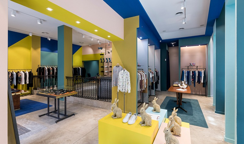 New Paul Smith store in Barcelona